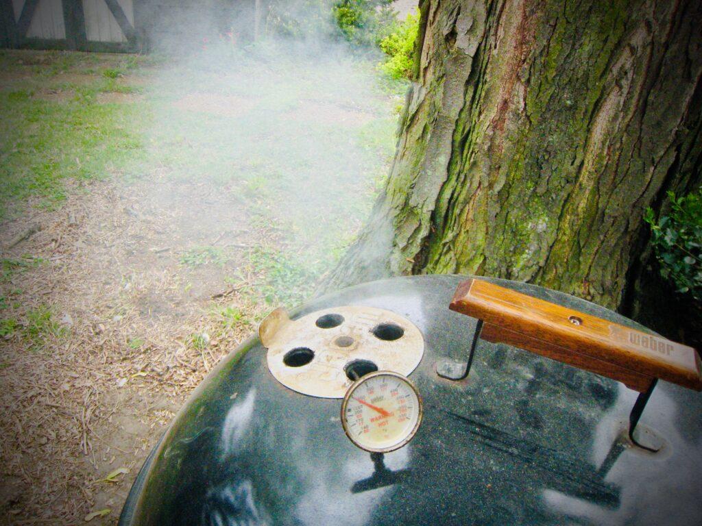 Weber Kettle Smoke