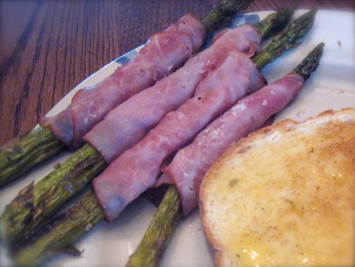 Ham-Wrapped Asparagus Batons