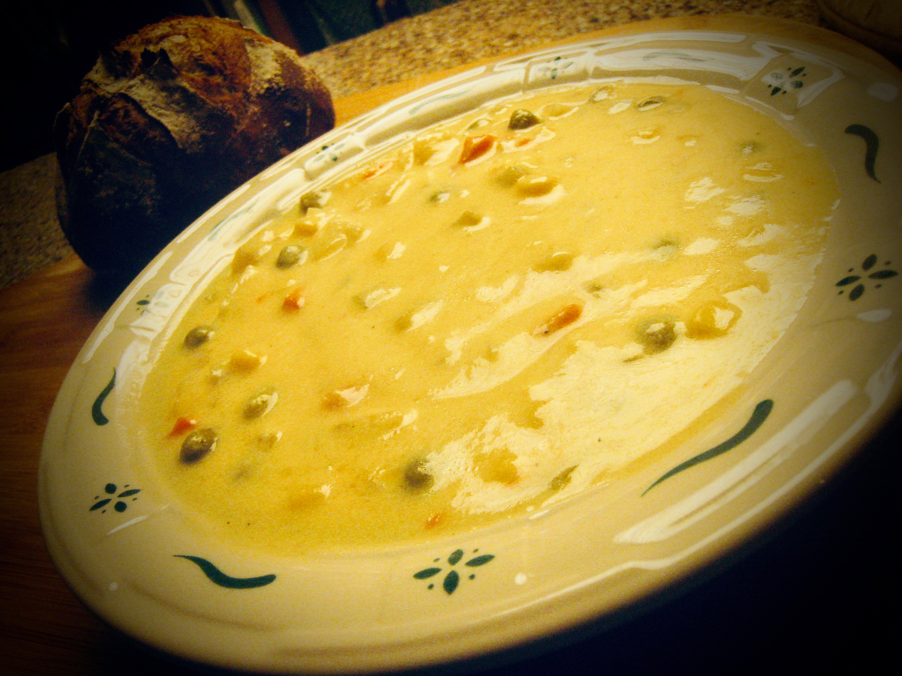 Brown Jug Cheese Soup
