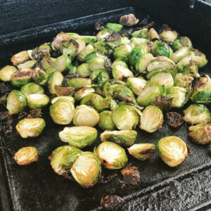 Brussells Sprouts on Plancha