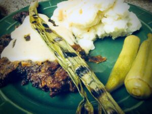 Chicken-Fried Steak Meal