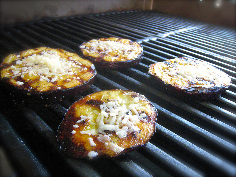 Eggplant Parm On The Grill