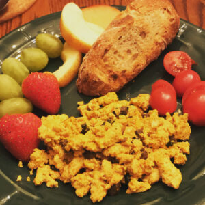 Tofu Scramble Plated